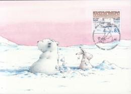 SCHWEIZ 2050 Maximumkarte, Der Kleine Eisbärn 2008 - Maximumkarten (MC)
