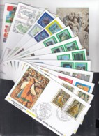 VATIKAN  1136-1162, 13 FDC, Ex 1995 - FDC