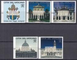 VATIKAN  Automatenmarken 1-5, Wertstufe 800 Lire, Postfrisch **, 2000 - Vatikan
