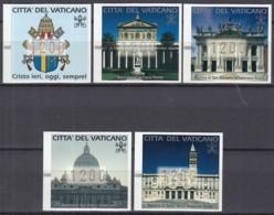 VATIKAN  Automatenmarken 1-5, Wertstufe 1200 Lire, Postfrisch **, 2000 - Vatikan