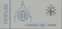 VATIKAN  Markenheftchen 2, Postfrisch **, Papstreisen 1984 - Markenheftchen