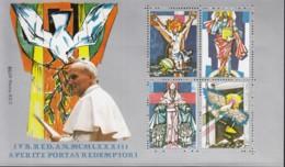 Vignettenblock, VATIKAN  Papst Johannes Paul II., Eröffnung Des Heiligen Jahres 1983 - Erinnofilia
