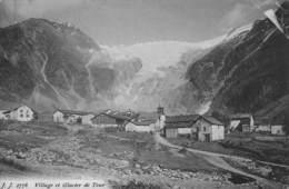 74-VILLAGE ET GLACIER DE TOUR-N°T2577-E/0199 - Autres Communes