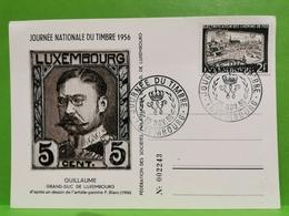Journée Nationale Du Timbre 1956. Guillaume De Luxembourg - Luxemburgo
