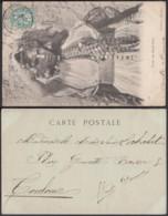 Algerie - Colonie Française - Carte Postale  Nr.: 194 - Vue:  Femme Des Ouled-Nails........ (VG) DC4963 - Algeria (1924-1962)