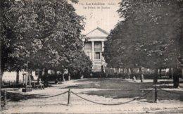 CPA   36  LA CHARTRE---LE PALAIS DE JUSTICE---1919 - La Chatre