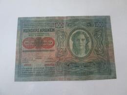 Austria 100 Kronen 1912 Banknote - Austria