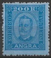 Angra – 1892 King Carlos 300 Réis Mint - Angra