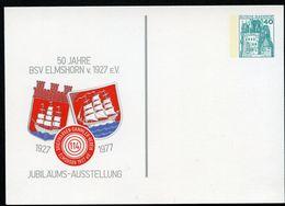 ELMSHORN WAPPEN 1977 Bund PP100 C2/005 ELMSHORN WAPPEN 1977 - Briefe U. Dokumente