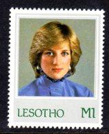 LESOTHO - 1982 PRINCESS DIANA 21st BIRTHDAY M1 STAMP FINE MNH ** SG 517 - Lesotho (1966-...)