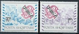 1992Albania 2495-2496Europa Cept - 1992