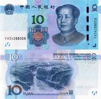 CHINA ,10 YUAN 2019, P-NEW, UNC - China