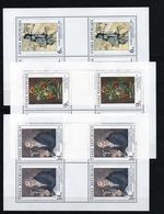 1995 Czech Republic MNH - Mi 96-98 Klb. ** MNH ART - Painting - Ungebraucht
