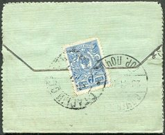 Russia 1911 Stary Oskol Very Small (7,5 X 6 Cm) Letter Card Cover Lettercard Russland Russie > St. Petersburg - Covers & Documents
