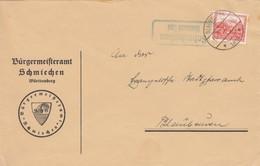 Bürgermeisteramt Schmiechen über Blaubeuren 1933 - Unclassified