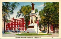 Connecticut Waterbury Soldiers' Monument - Waterbury
