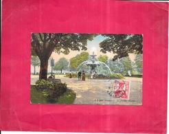 GENEVE - SUISSE - CPA COLORISEE -  Le Jardin Anglais  - DELC8 - - GE Genève