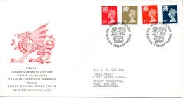 Machin010  1990 FDC   Definitive Wales - 1981-1990 Decimal Issues