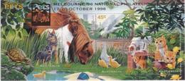 Australia 1996 Pets Sc 1563e Mint Never Hinged Ovpt PETS- Melbourne - Mint Stamps