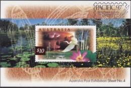Australia 1997 Wetlands Sc 1535c Mint Never Hinged Ovpt PACIFIC 97 - 1990-99 Elizabeth II
