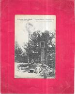 LA GRANDE GUERRE De 1914 -15  - TAHURE - Dans Les Bois Un Observatoire Allemand  - - Guerre 1914-18