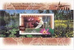 Australia 1997 Kakadu Wetlands Sc 1535c MNH ** Ovpt ITALIA 98 - 1990-99 Elizabeth II