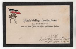 +3566, Trauerkarte - Guerre 1914-18