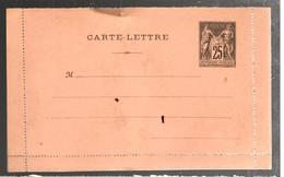 27103 - Carte  Lettre - Entiers Postaux