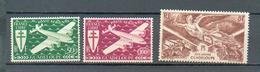 GUAD 477 - YT PA 4 - 5 - 6 * - Guadeloupe (1884-1947)