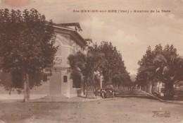 I16-83)  SAINTE MAXIME SUR MER (VAR)  AVENUE DE LA GARE - (2 SCANS) - Sainte-Maxime