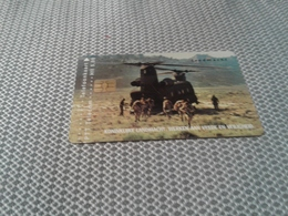 Netherlands - Private Card Military - Pays-Bas