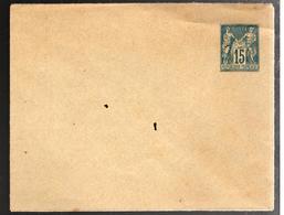 27112 - Sage 15 C Bleu - Postal Stamped Stationery