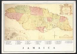 Map Jamaica - Carte Geografiche