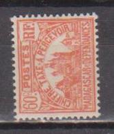 MADAGASCAR         N°  YVERT  :  TAXE   15          NEUF AVEC  CHARNIERES      (  CH  02/23 ) - Madagascar (1889-1960)