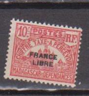 MADAGASCAR         N°  YVERT  :  TAXE   20          NEUF AVEC  CHARNIERES      (  CH  02/23 ) - Madagascar (1889-1960)