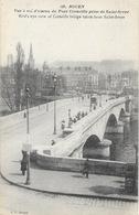 Rouen - Le Pont De Pierre Corneille, Vue à Vol D'oiseau Prise De Saint-Sever - Carte J.C. N° 128 Non Circulée - Rouen