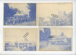 Sint-Truiden : 6 Kaarten Exposition ( Pecherie - Entrée - Brasserie - Distillerie - Palais De Mines - Charbonnages ) - Sint-Truiden