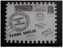 TAAF: TB Carnet Voyage C308, Neuf XX . - Carnets