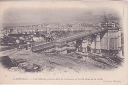 13 - MARSEILLE - HAUT DE L'ASCENSEUR DE NOTRE DAME DE LA GARDE - PASSERELLE - Notre-Dame De La Garde, Ascenseur