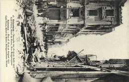 Salonique Incendie Des 18 19 20 Aout 1917 Caqfé Fmoca Hotel De Rome  Rue Bulgaroctons    RV - Greece