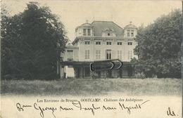 Oostcamp : Les Environs De Bruges : Chateau Des Aubépines ( Geschreven 1902  Met Zegel 1 Cent )  Perfecte Staat - Oostkamp