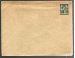 27133 - Sage  15 C, Bleu  147 X 113 Mm - Postal Stamped Stationery
