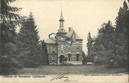 Glabbeek : Chateau De Bunsbeek  ( Geschreven 1904  Met Zegel 1 Cent )  Perfecte Staat - Glabbeek-Zuurbemde