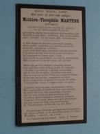 DP Mathieu-Theophile MARTENS ( Jongman ) Alken 24 Jan 1898 - 29 Sept 1923 ! - Todesanzeige