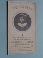 DP Godelieve THOMAS ( Dochterken ) Sint-Truiden 2 April 1901 - 23 Maart 1912 ! - Todesanzeige