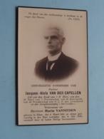 DP Jacques-Aloïs VAN DER CAPELLEN ( Maria NANNITSEN ) Alken 6 Maart 1861 - 4 Juli 1930 ! - Todesanzeige