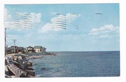 Etats Unis Maine Fischerman's Cove From Webhannet Drive Wells Beach Maine En 1965 VOIR TIMBRES - Non Classés