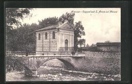 Cartolina Almese, Cappella Di S. Anna Sul Messa, Kapelle - Autres Villes
