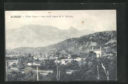Cartolina Almese, Villar Dora E Vista Della Sagra Di S. Michele - Autres Villes