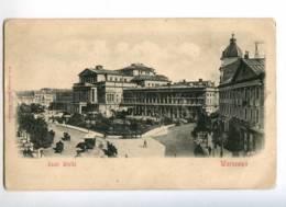232986 POLAND WARZAWA Teatr Wielki Vintage Postcard - Polonia